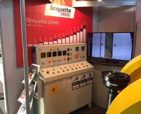 Briquettepress ligna2017 5